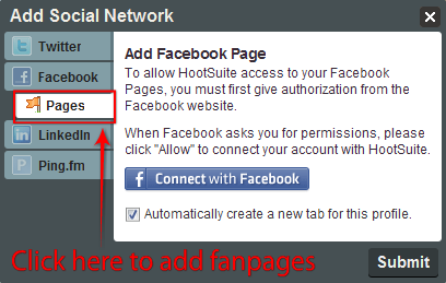 Tools for Facebook