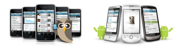 HootSuite for android and iPhone