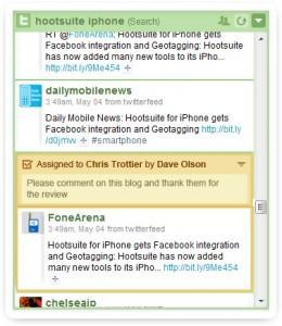 HootSuite Assigments