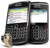 blackberry hootsuite