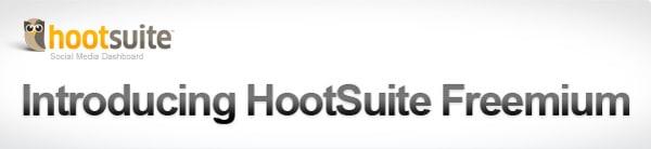 Introduing HootSuite Freemium