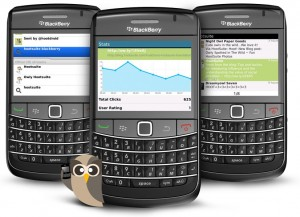 HootSzute adds Geolocation for BlackBerry App