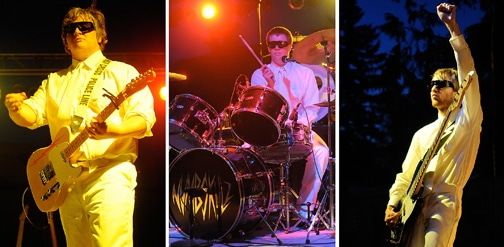 Trio band the Numbskulz