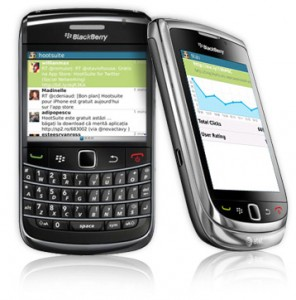 Social Media Management on BlackBerry