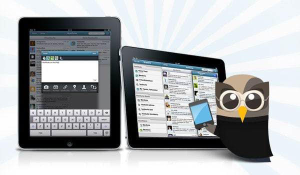 Social Media Management on iPad