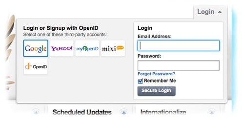openID on HootSuite