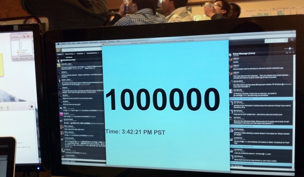 Count down to a million HootSuite users
