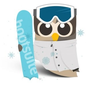 Winter in HootSuite