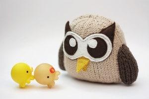 Yoomii custom makes plush HootSuite Owls