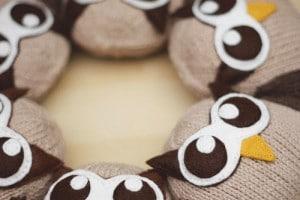 HootSuite Plush Owl Close up