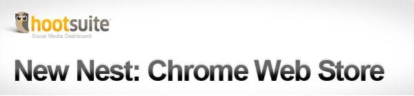 HootSuite App for Chrome Web Store