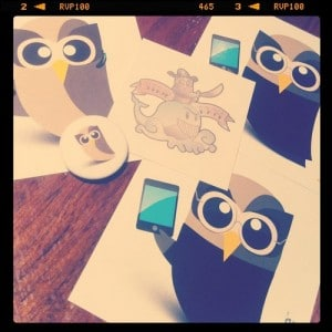 HootKits and Hoot stickers from community managers