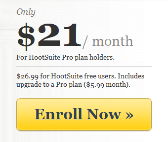 Discount for HootSuite University