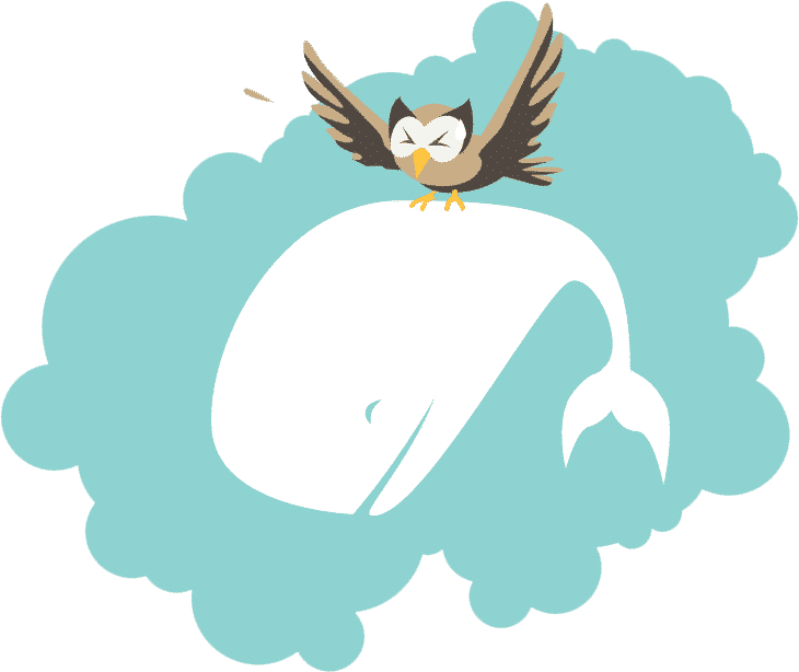 Owly saving the Whale