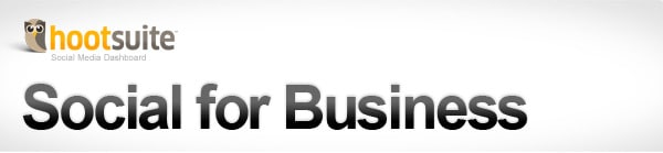 Social for Business with HootSuite