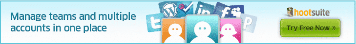 Sample Banner Ad for the HootSuite Affiliate Program
