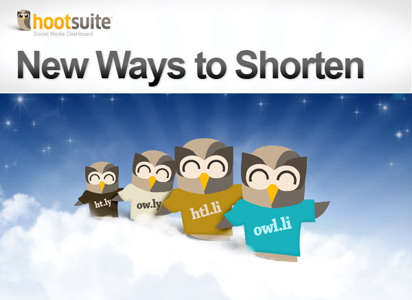 New Ways to Shorten Links with HootSuite