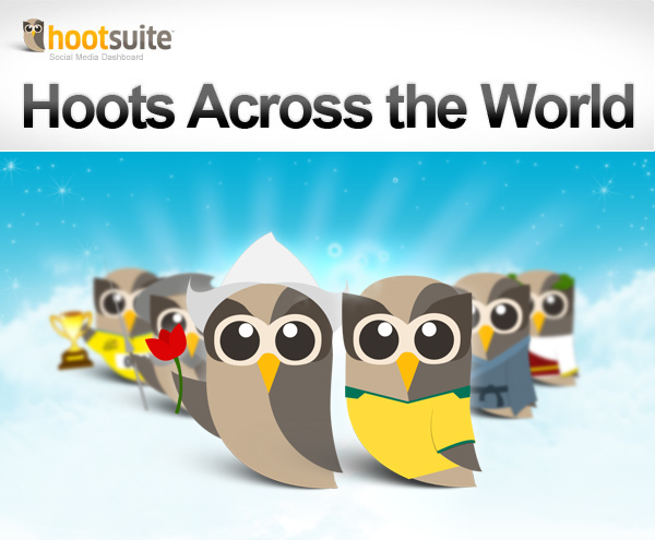 Hoots Around the World - HootSuite in Dutch and Portuguese