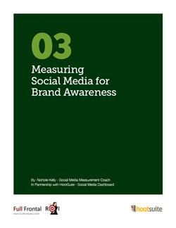 Measuring Social Media for ROI White Paper Series