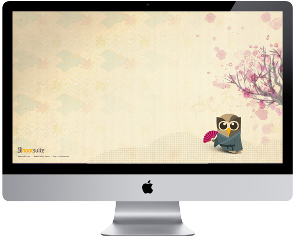 desktop wallpaper japan. Japanese Owl Wallpaper