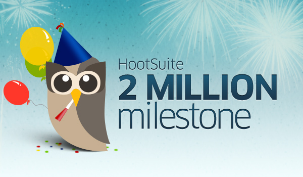 HootSuite reaches 2 million