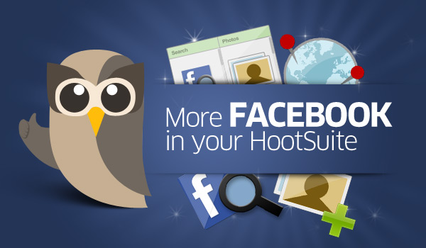 Tools for Facebook in HootSuite