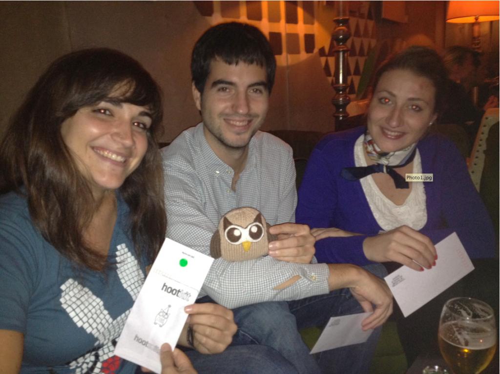 HootUp Madrid Owls!