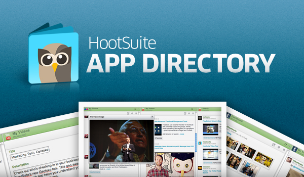 HootSuite launches the app directory with YouTube, Flickr, Tumblr and Get Satisfaction