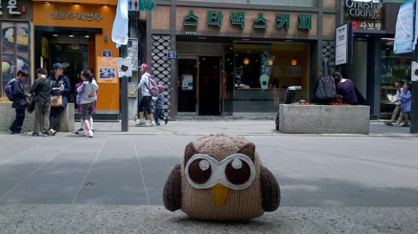 Owly on the streets of Nippon