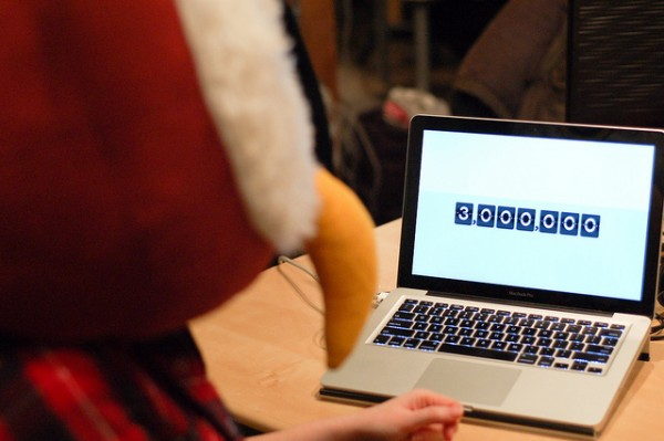 Owly looks on the 3 million numbers
