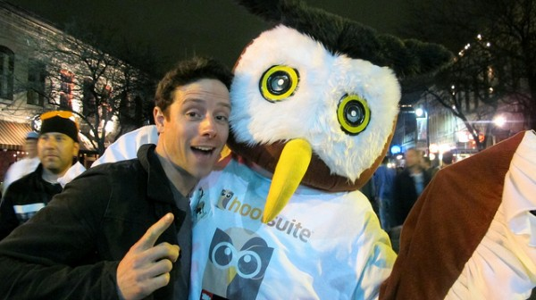 Owly with John Cartwright