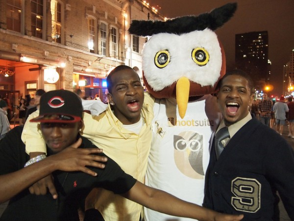 Owly with some friends