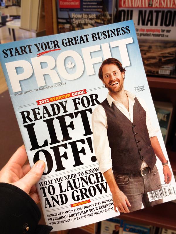 Ryan Holmes PROFIT Magazine
