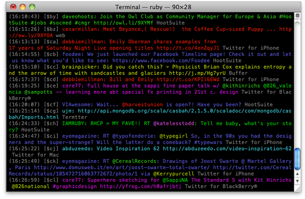 Command Line Screenshot 1