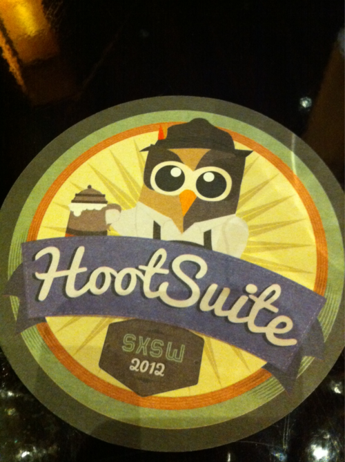 HootSuite Coaster