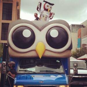 Owly on the HootBus