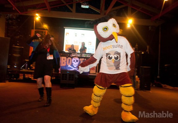 Owly in Mashable