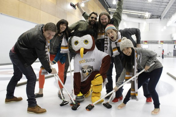 HootSuite It's a Bonspiel