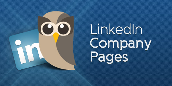 linkedin company pages header