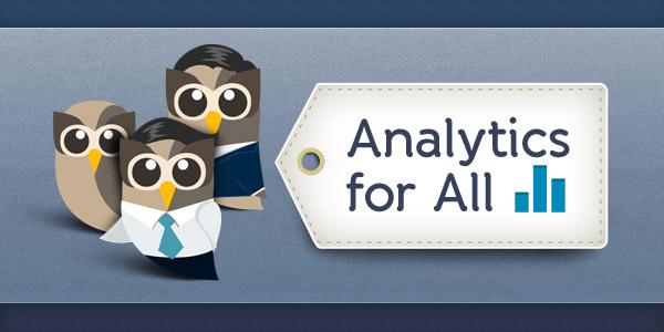 analytics for all header