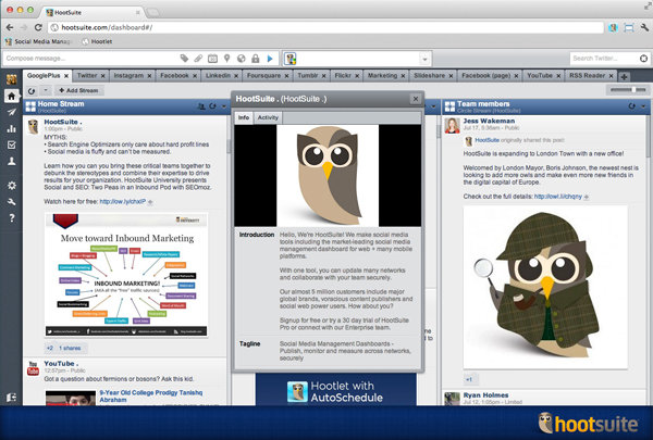 Google+ Pages now open to all HootSuite users! / tools resources  / gplus screenshot1 600px