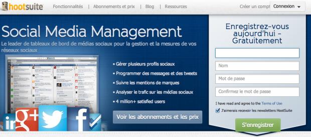 Installez HootSuite