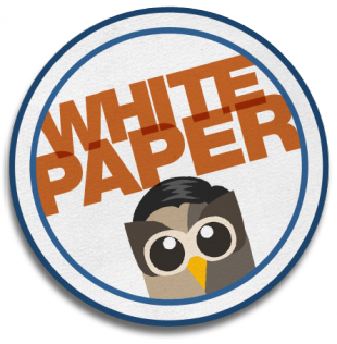 White Paper Badge
