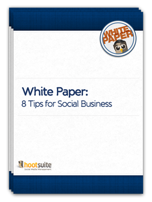 White Paper: 8 Tips for Social Business