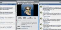 El búho oficial de @HootSuite_ES, y nuestro panel de control