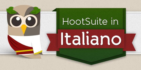 HootSuite in Italiano