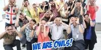 Teman-teman Klix Digital bergaya Owl