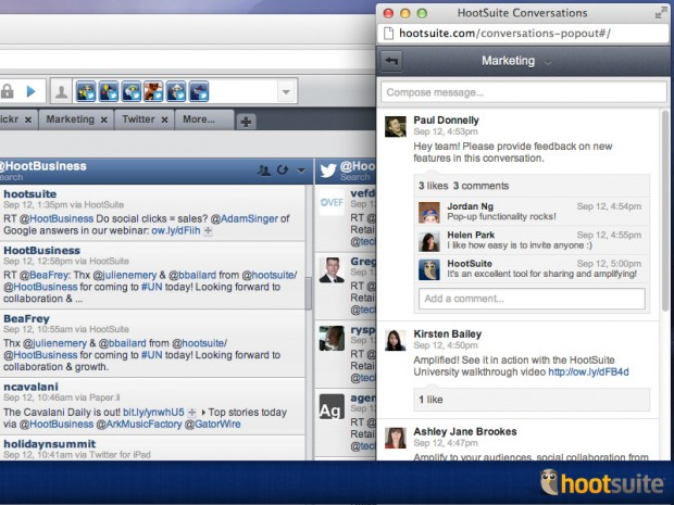 HootSuite Conversations simplifies communication