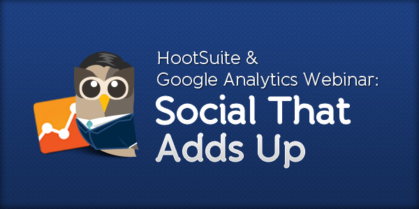 Social that Adds Up Webinar archive