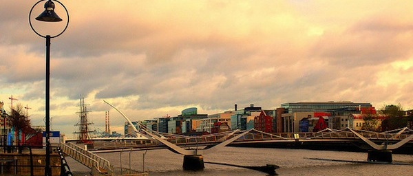 Dublin Skyline credit below - Flickr uggboy
